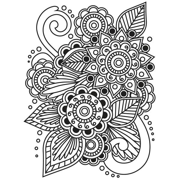 Darice embossing folder bloemen Henna patroon goedkope goedkoop