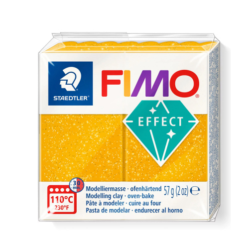 Fimo klei glitter goud gold 112 Lottes Place