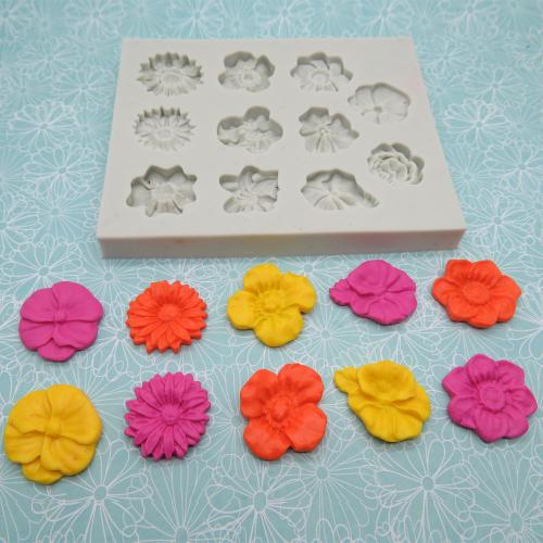 Bloemen maken van Fimo klei