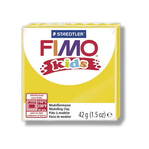 Fimo klei Kids geel 1 Lottes Place