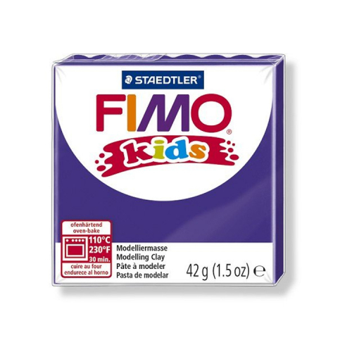 Fimo klei Kids paars lila 6 Lottes Place