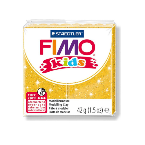 Fimo klei Kids glitter goud 112 Lottes Place