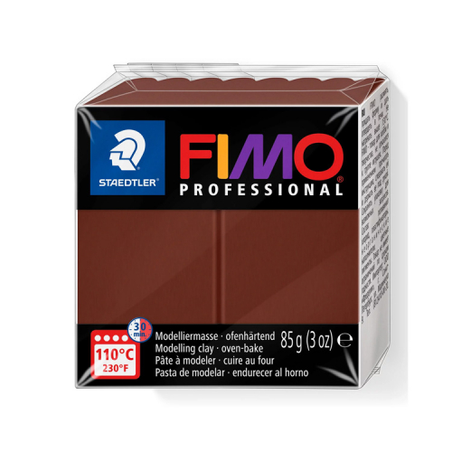 Fimo klei professional chocolade bruin chocolate 77 Lottes Place