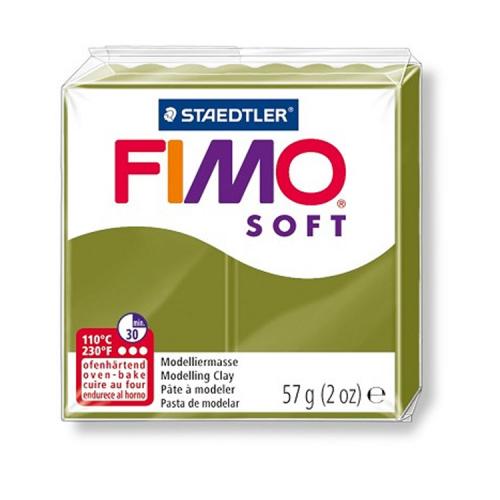 Fimo klei soft olijfgroen 57 Lottes Place
