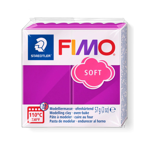 Fimo klei soft violet paars 61 Lottes Place