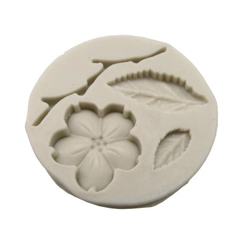 Silicone mal Fimo klei bloem sakura tak blaadjes