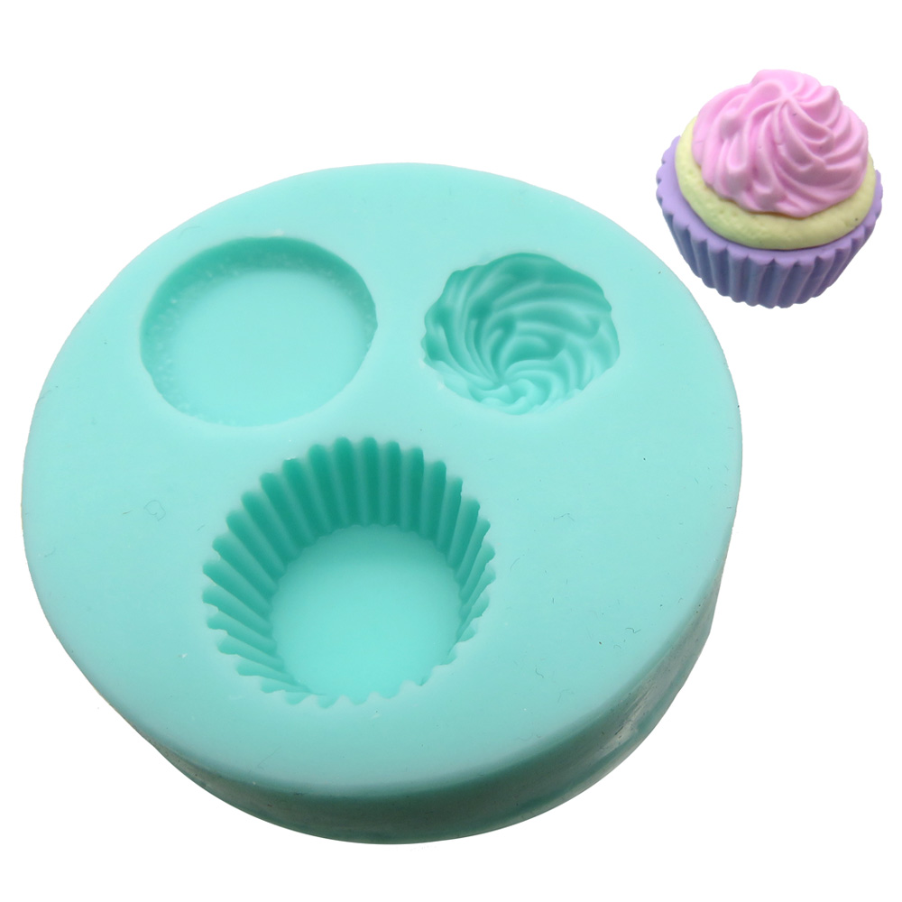 Cupcake mal voor Fimo klei Lottes Place