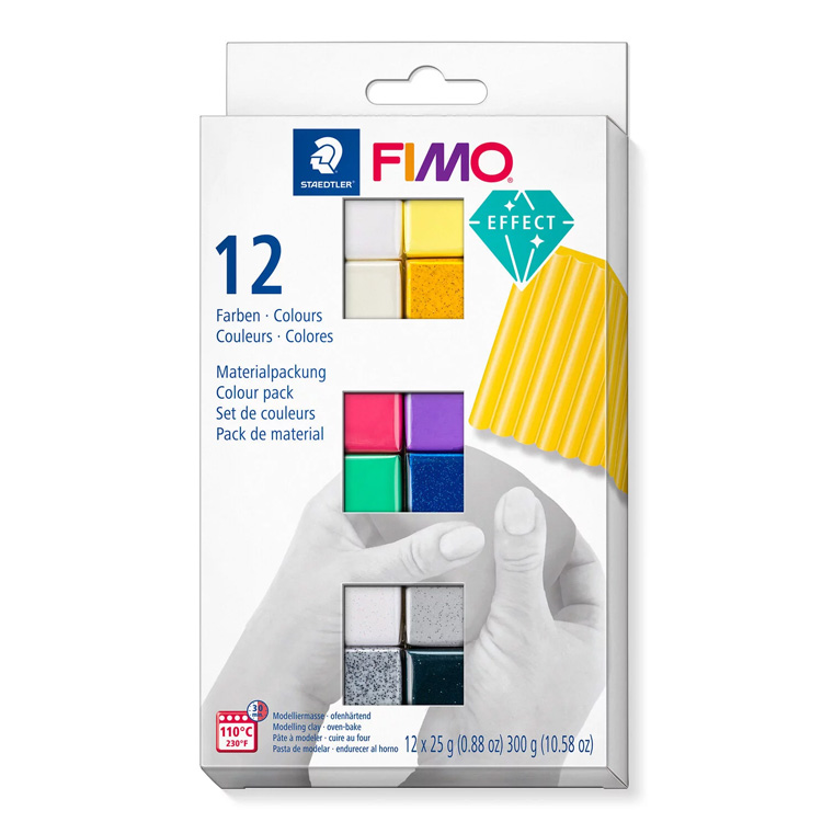 Fimo Effect colour pack kleuren