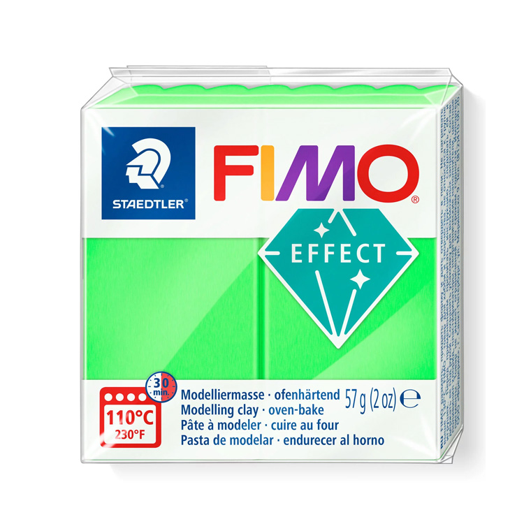 Fimo effect neon groen 501 Lottes Place