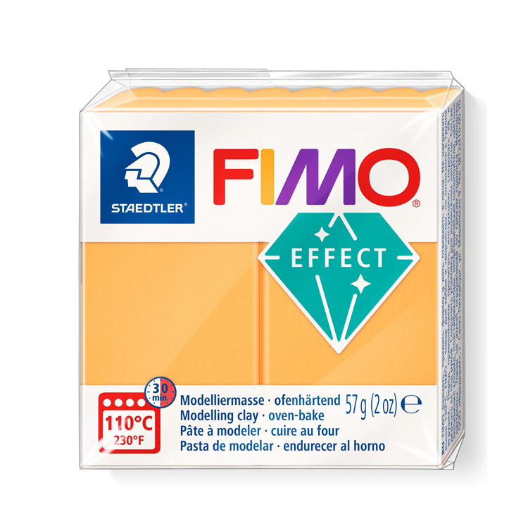 Fimo effect neon oranje 501 Lottes Place