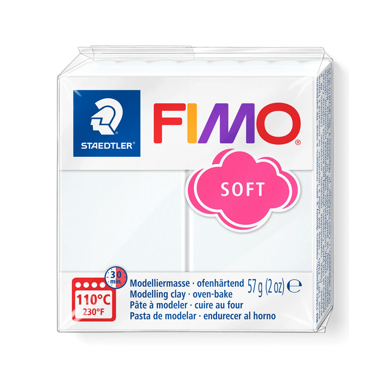 Fimo Soft Wit 0