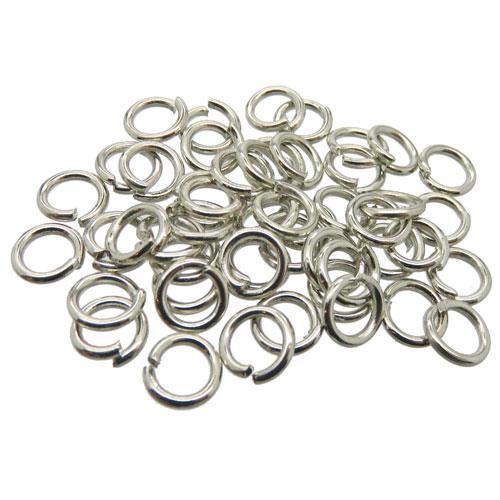 Aanbuigringen 6mm stainless steel