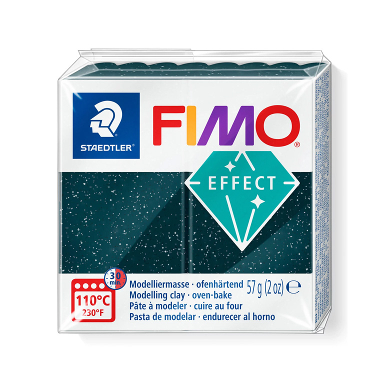 Fimo glitter zwart 903 Lottes Place