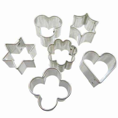 Fimo uitsteekvormen hartjes sterretjes bloemetjes