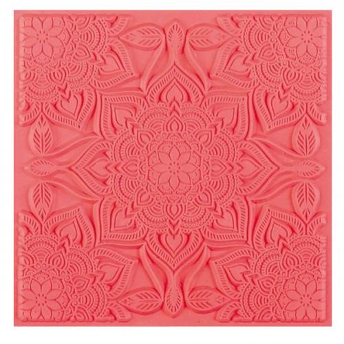 Texture mat mandala