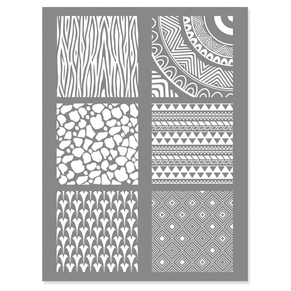 silk screen voor klei