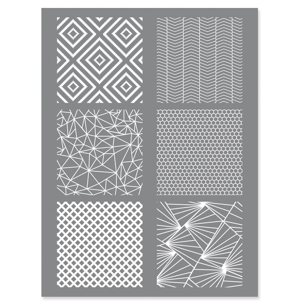 silk screen Geometrisch