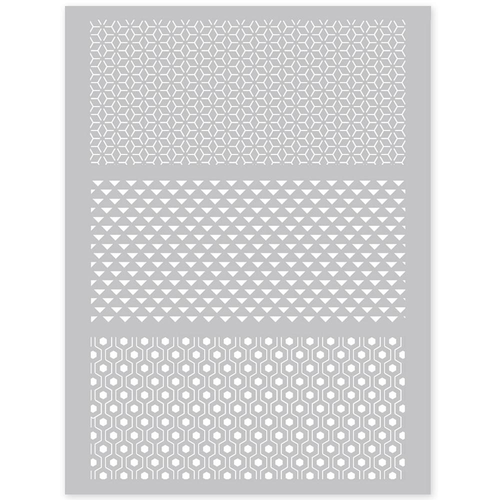 silk screen grafische patronen