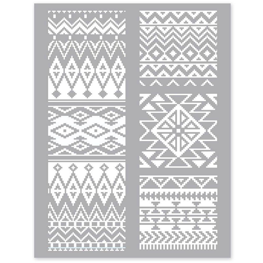 silk screen mexicaans patroon