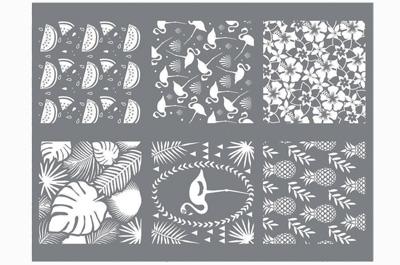 silkscreens voor fimo klei
