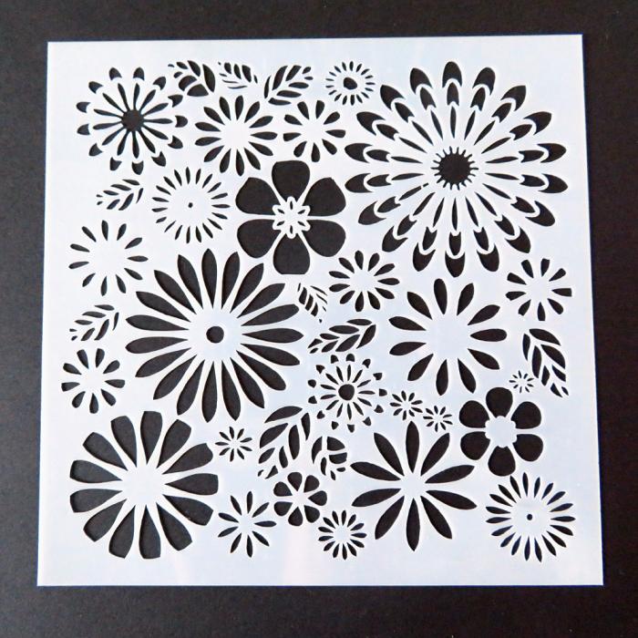 stencil bloemen