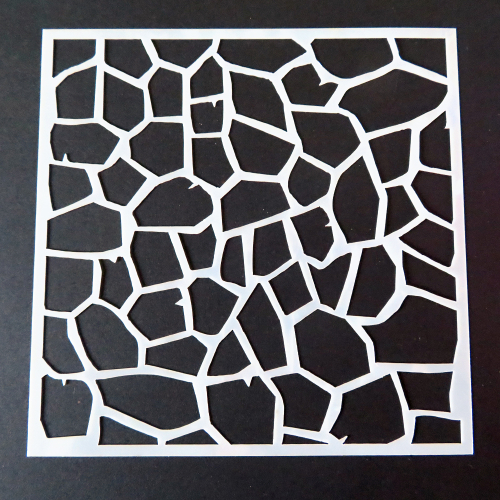 stencil crackle