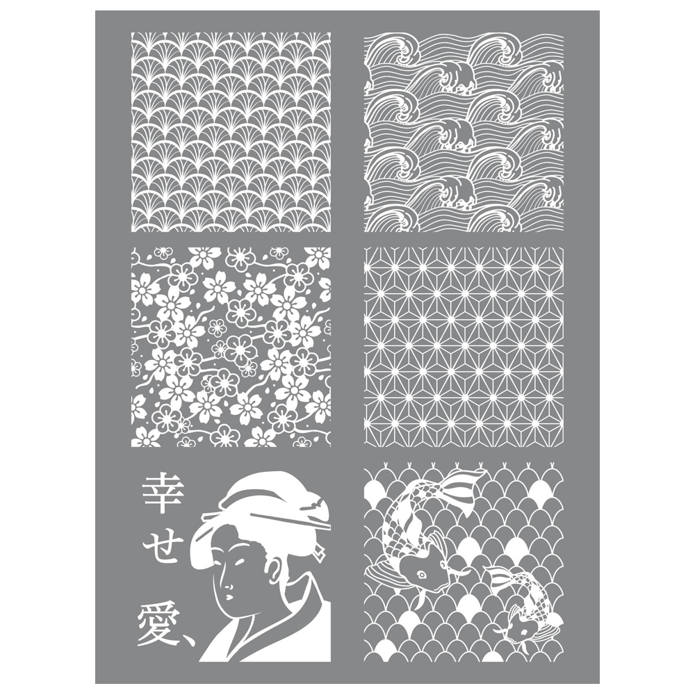 silk screen japan
