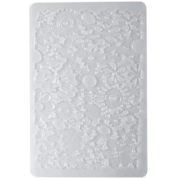 textuur plaat klei bloementextuur plaat klei bloemen