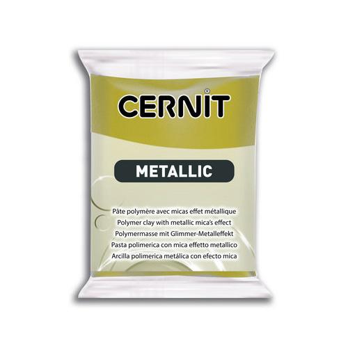 Cernit metallic antiek goud 055