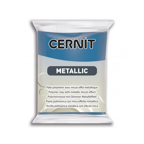 Cernit metallic blauw 200