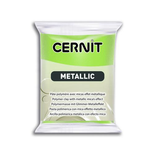 Cernit metallic groen 051