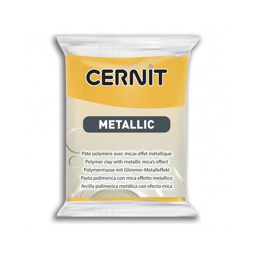 Cernit metallic geel