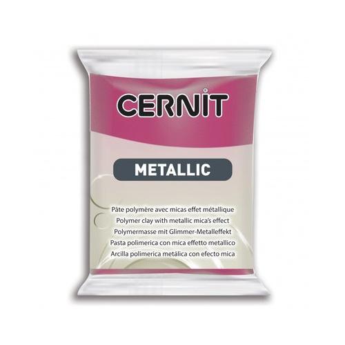 Cernit metallic magenta roze 460