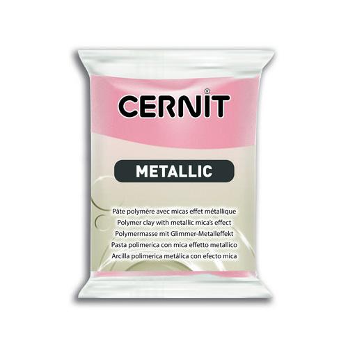 Cernit metallic roze 052