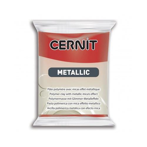 Cernit metallic rood 400