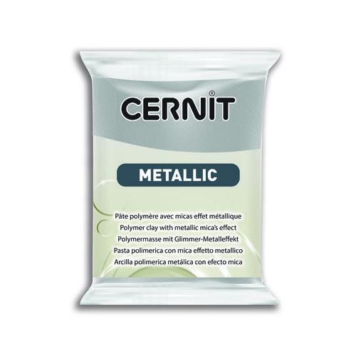 Cernit metallic zilver 080