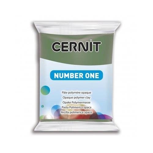 Cernit number one Olijf groen