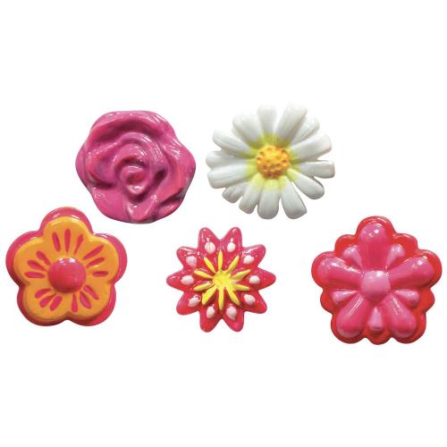 bloemen maken van klei