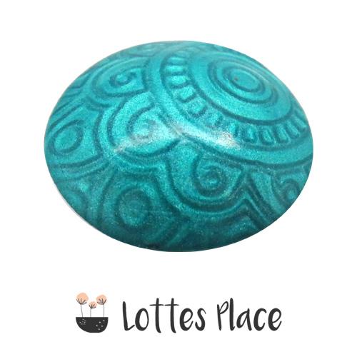 cernit metallic turquoise 676