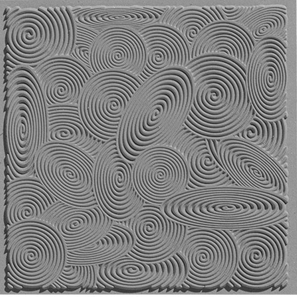 cernit texture mat spirals