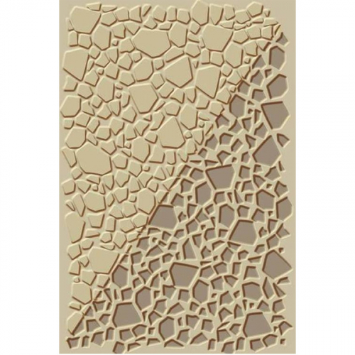 texture clay crackle