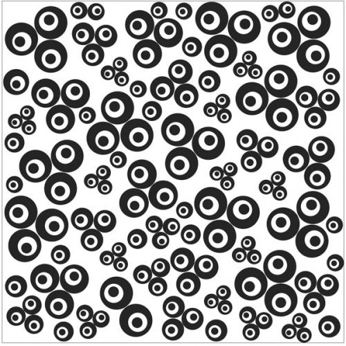 textuur mat cernit Contemporary Clovers