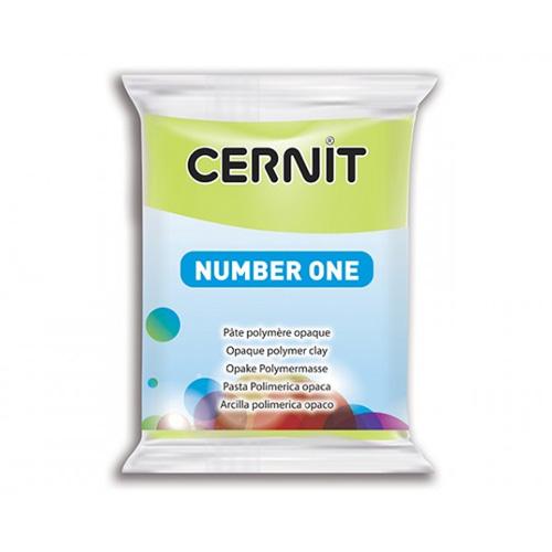 cernit number one lime green