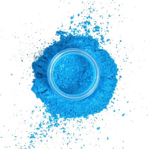 pigment poeder turquoise