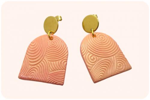 polymeer klei oorbellen maken