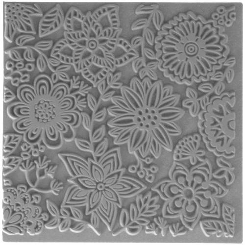 textuur mat bloemen cernit