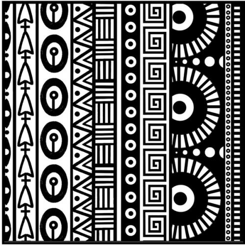 cernit textuurmat geometrisch