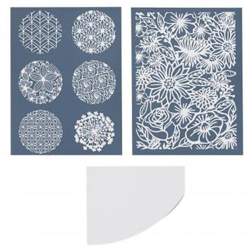polymeer klei silk screen set